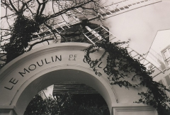 Moulin de la Galette - This building is indexed in the Base Mérimée, a database of architectural heritage maintained by the French Ministry of Culture, under the reference PA00086755 .
