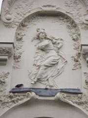 Théâtre de l'Elysée-Montmartre, ancien dancing - Français:   Façade de l\'Élysée-Montmartre (Paris-France)