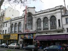 Ancien théâtre Victor Hugo, cinéma Trianon -  Le Trianon, 80 boulevard de Rochechouart, Paris XVIIIe, France