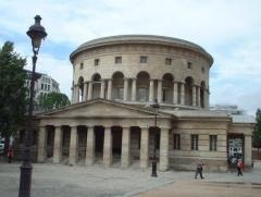 Ancienne barrière d'octroi de la Villette ou rotonde de la Villette -  Rotonde de la Villette, Paris. Architect: Claude Nicolas Ledoux