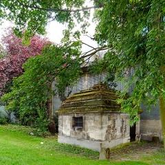 Eaux du Pré-Saint-Gervais : Regard du Bernage - English: Paris, 19th arrondissement, France. Regard du Bernage.