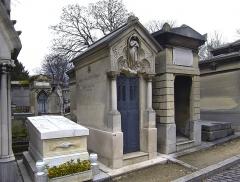 Cimetière de l'Est dit cimetière du Père Lachaise - English: Ernest Chausson - graveyard of Père Lachaise - Paris