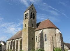 Eglise - Français:   Église Saint-Martin d\'Aufferville. (Seine-et-Marne, région Île-de-France).