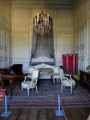 Domaine national - Chambre de Gilbert Cahen d'Anvers du château de Champs-sur-Marne (77).
