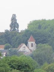 Eglise Notre-Dame - Français:   Vue de l\'église, depuis Chanteloup-en-Brie