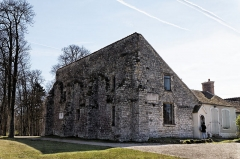 Chapelle de l'ermitage de Franchard (restes) -  La chapelle de l'ermitage de Franchard dans la forêt de Fontainebleau et à proxmité des gorges du même nom.