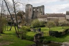 Château (vestiges) - English:  Tower de Ganne, bank of the old port, now desapared.