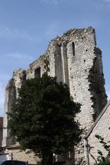 Château (vestiges) - English: Tour de Ganne in Grez-sur-Loing in the Departement Seine-et-Marne (Île-de-France)
