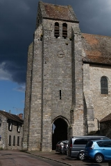 Eglise - English:  Our Lady and Saint Lawrence church.