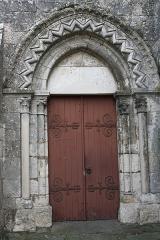 Eglise - English: Church Notre-Dame et Saint-Laurent in Grez-sur-Loing in the Departement Seine-et-Marne (Île-de-France)
