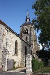 Eglise Saint-Pierre-Saint-Paul - Deutsch: Kirche Saint-Pierre-Saint-Paul in Jouy-sur-Morin im Département Seine-et-Marne (Île-de-France)