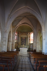 Eglise Saint-Etienne - Français:   Église Saint-Étienne de Maincy (intérieur)