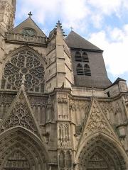 Cathédrale Saint-Etienne - Français:   Cathédrale Saint-Etienne - Meaux - Seine-et-Marne - France - Mérimée PA00087087