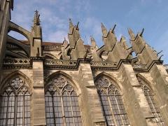 Cathédrale Saint-Etienne - Français:   Chapelles méridionales du choeur de la cathédrale Saint-Etienne - Meaux - Seine-et-Marne - France - Mérimée PA00087087