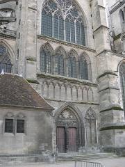Cathédrale Saint-Etienne - Français:   Cathédrale Saint-Etienne de Meaux - Meaux - Seine-et-Marne - France - Mérimée PA00087087