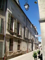 Hôtel Marquelet de la Noue - Français:   Hôtel Marquelet de la Noue, 6 rue des Vieux-Moulins. Direction des affaires culturelles de la ville de Meaux.
