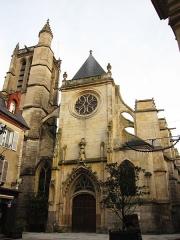 Eglise Saint-Aspais - Français:   L\'Église Saint-Aspais de Melun.