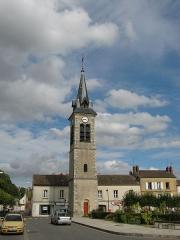 Eglise Saint-Barthélémy - Français:   Clocher de l\'ancienne église Saint-Barthélémy de Melun