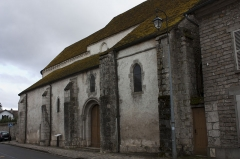 Chapelle Saint-Pierre de Pontloup - English:  The Church of St. Peter of the Ties, last remain of the Priory of Pont-Loup.
