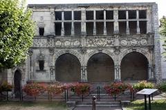 Maison dite de François Ier ou Hôtel de Chabouillé, dans la cour de l'Hôtel de ville - English:  Old Hotel de Chabouillé said House François 1er.