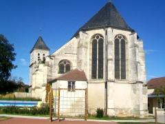 Eglise Saint-Martin - Français:   Vue sur le chœur depuis l\'est.
