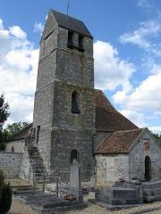 Eglise - Français:   Église catholique Notre-Dame de l'Assomption. (Ormesson, département de la Seine et Marne, région Île-de-France).