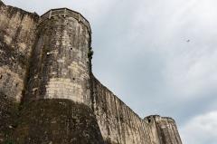 Remparts de la Ville Haute -  Les remparts de Provins.