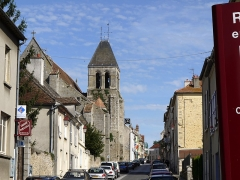 Eglise Notre-Dame - English: Church of Rozay_en_Brie, Seine et Marne, Ile de France