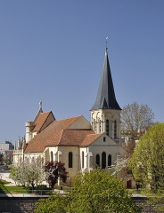Eglise Notre-Dame - English: The church of Notre-Dame in Chatou, department of Yvelines, France.