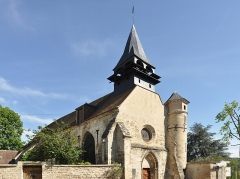 Eglise Saint-Léonard et Saint-Martin - English: Former parish church built in Gothic style in the thirteenth century, the chapel of St. Leonard and St. Martin of Croissy-sur-Seine in Yvelines in France is now an exhibition center.