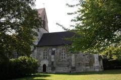 Eglise  ou chapelle de la Paix - English: Old church of Maisons-Laffitte, France.