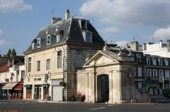 Pavillon - English: House at 2 Muette street in Maisons-Laffitte, France.