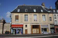 Pavillon - English: House 72 Paris street in Maisons-Laffitte, France.