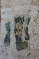 Eglise Saint-Nicolas - Deutsch:   Katholische Pfarrkirche Saint-Nicolas in Saint-Arnoult-en-Yvelines im Département Yvelines in der Region Île-de-France (Frankreich), Wandmalerei aus dem 16. Jahrhundert.