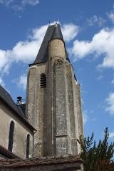Eglise Saint-Nicolas - Deutsch:   Katholische Pfarrkirche Saint-Nicolas in Saint-Arnoult-en-Yvelines im Département Yvelines in der Region Île-de-France (Frankreich), Glockenturm aus dem 16. Jahrhundert.