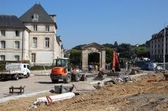 Ecole spéciale militaire (ancienne maison royale de Saint-Louis). - English: Royal house of Saint-Louis in Saint-Cyr-l'École, France