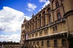 Domaine national de Saint-Germain-en-Laye, actuellement Musée des Antiquités Nationales - Français:   Château Vieux de Saint-Germain-en-Laye (Yvelines, France)