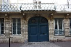 Hôtel de Madame de Maintenon - English: Hôtel de Madame de Maintenon located 23 Vieil-Abreuvoir street in Saint-Germain-en-Laye, France.