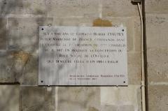 Quartier de Gramont - English: Quartier de Gramont (old military district) located 19, 21 Thiers street in Saint-Germain-en-Laye, France.