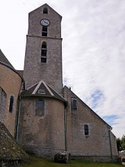 Polissoir - English: Buno-Bonnevaux, Essonne, France. Polissoir des Sept coups d'épée, next to the church.