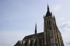 Eglise Saint-Germain - English: Saint-Germain-d'Auxerre church in Dourdan, France.