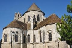 Eglise Saint-Martin - Français:   Extérieur. Collégiale Saint-Martin à Étampes (Essonne, France)