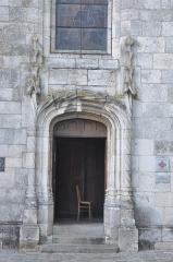Eglise Saint-Martin - Français:   Porte latérale. Collégiale Saint-Martin à Étampes (Essonne, France)