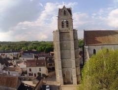 Eglise Saint-Martin - Français:   La collégiale Saint Martin d\'Etampes (Essonne) date du XIIème siècle pour sa partie \