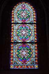 Eglise Saint-Etienne - Deutsch: Bleiglasfenster in der Kirche Saint-Étienne in Étréchy im Département Essonne (Île-de-France)