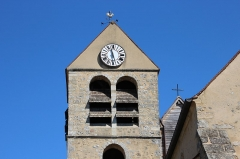Eglise - English: Saint-Pierre church in Lardy, France.