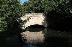 Pont de l'Etre sur la Juine - English: Pont de l'Hêtre (Beech bridge in french) on the river Juine in Lardy, France.