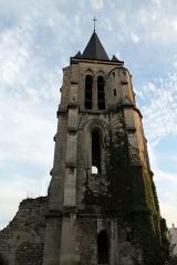 Eglise Sainte-Marie-Madeleine - Clocher de l'église Sainte Marie Madeleine, Massy, Essonne, France