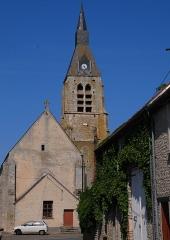Eglise -  church of Monnerville nearby camping Le Foret de la Justice