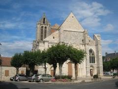 Eglise Saint-Sulpice - English: Gothic church of Saint-Sulpice-de-Favières (Essonne, France)